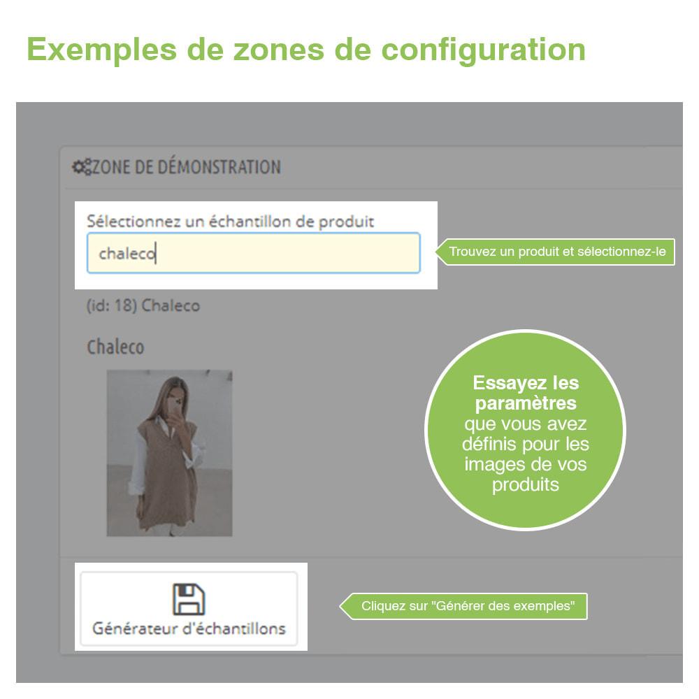 module - Visuels des produits - Image Optimizer et Webp Converter – PrestaShop Module - 4