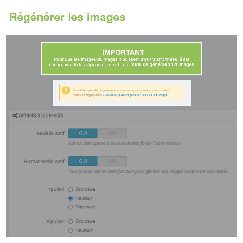 module - Visuels des produits - Image Optimizer et Webp Converter – PrestaShop Module - 7