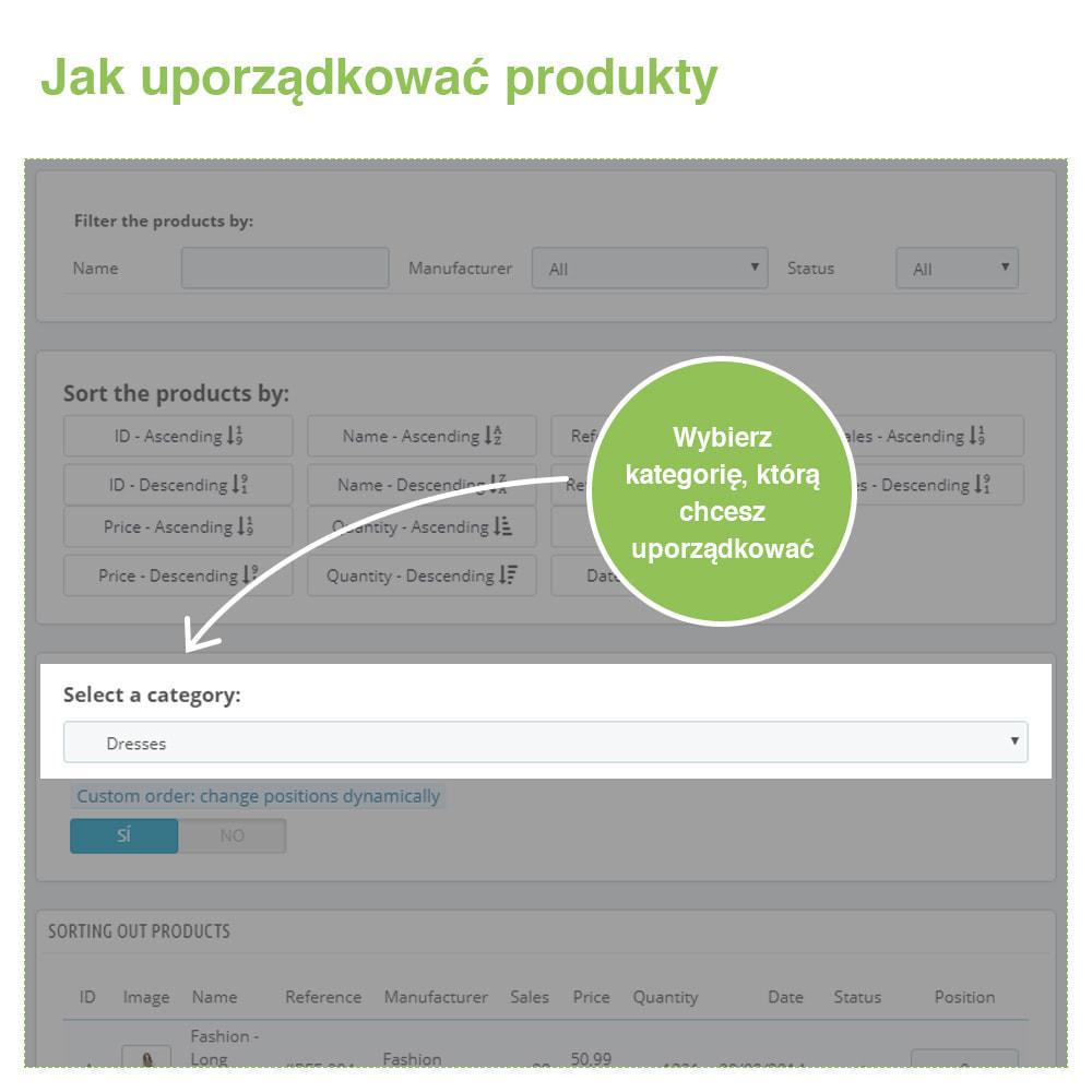 module - Szybkie & Masowe edytowanie - Sort Products: Sortuj Produkty w Kategoriach - 2