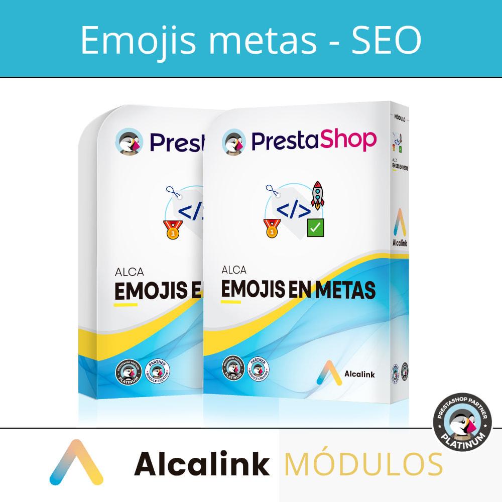 module - SEO (Pozycjonowanie naturalne) - Emojis in metas (products, categories, CMS ...) - SEO - 1