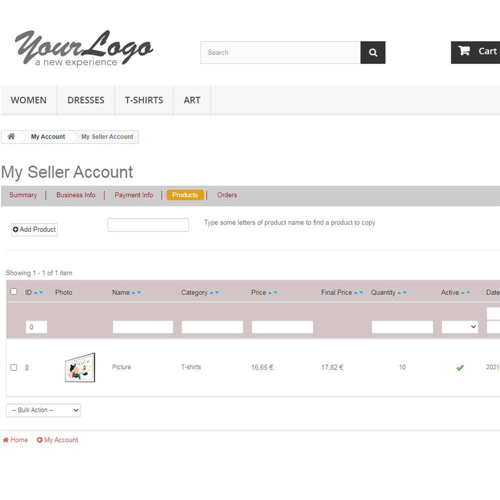 module - Marketplaces - Agile Multiple Seller 1.6 - 5