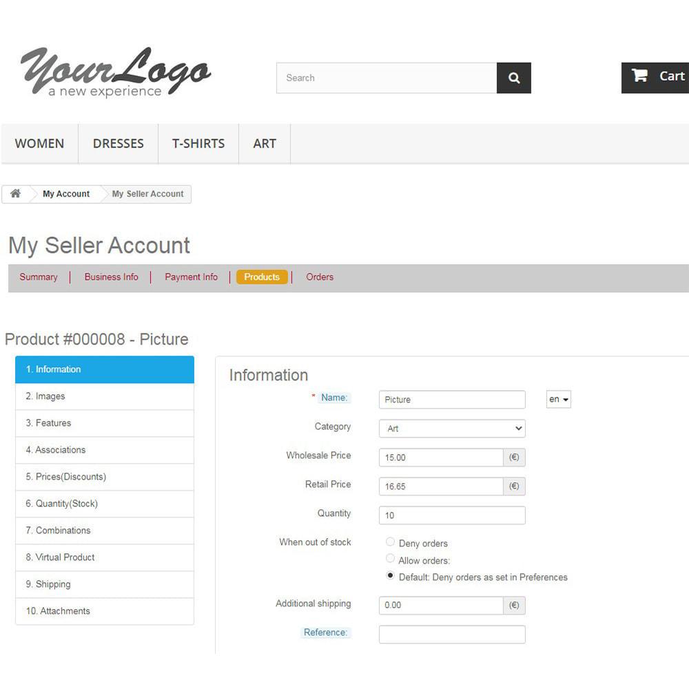 module - Marketplaces - Agile Multiple Seller 1.6 - 6