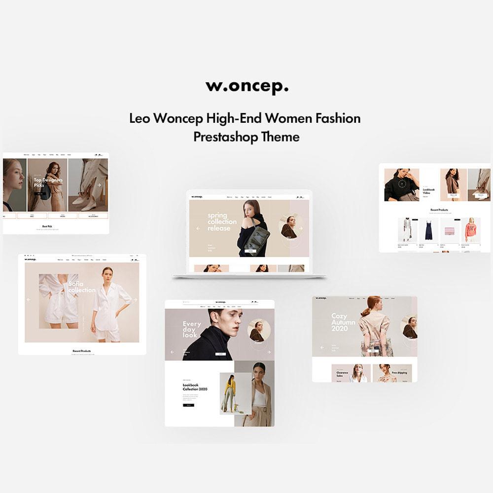 theme - Mode & Chaussures - Leo Woncep High-End Women Fashion Prestashop Theme - 1