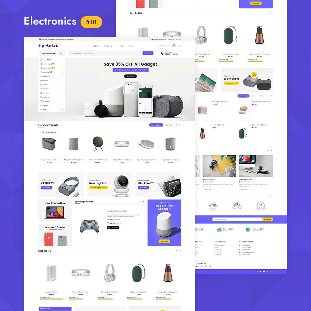 theme - Elettronica & High Tech - Big Market - Multi-purpose Mega Store - 3