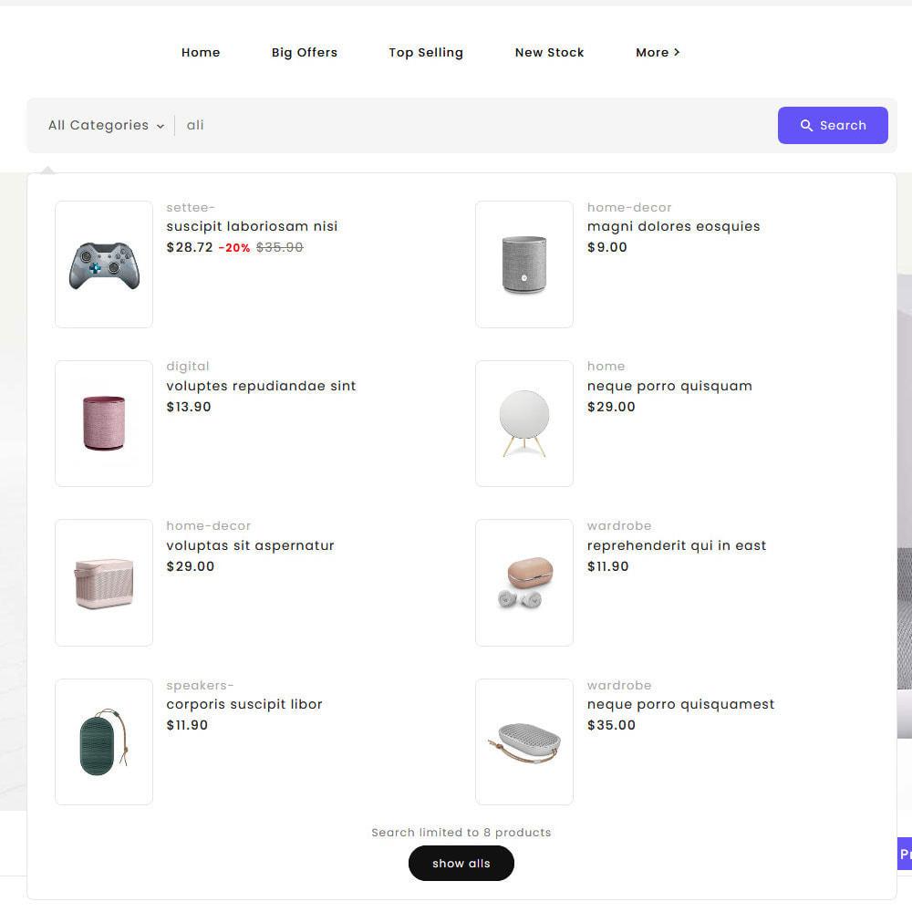 theme - Eletrônicos & High Tech - Big Market - Multi-purpose Mega Store - 21
