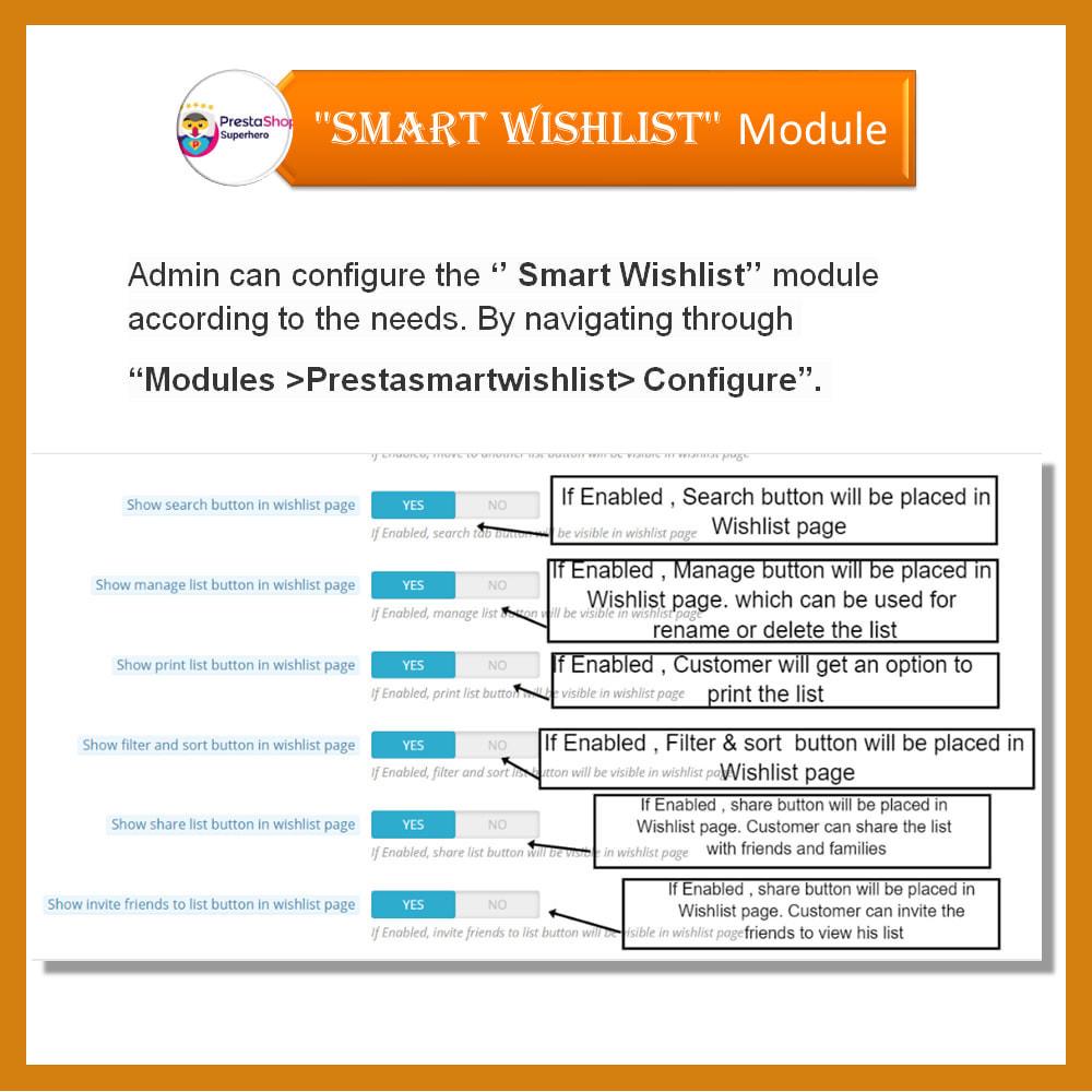 module - Wishlist & Gift Card - Smart Wishlist - 17