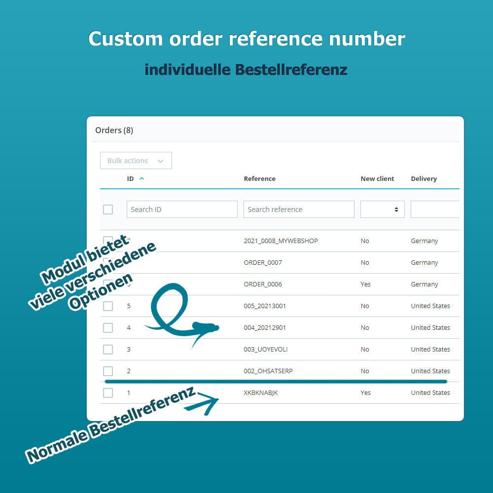 module - Auftragsabwicklung - Custom Order Reference - Individuelle Bestellreferenz - 1