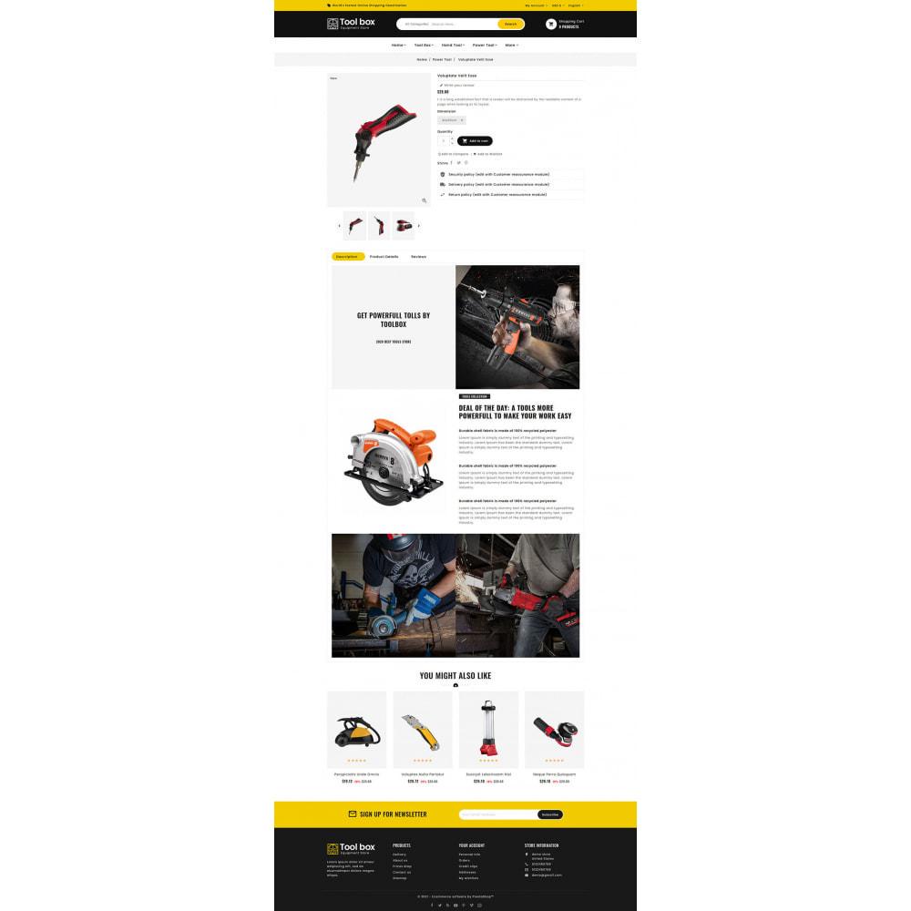 theme - Electrónica e High Tech - ToolBox - Drill Tools & Equipment - 10