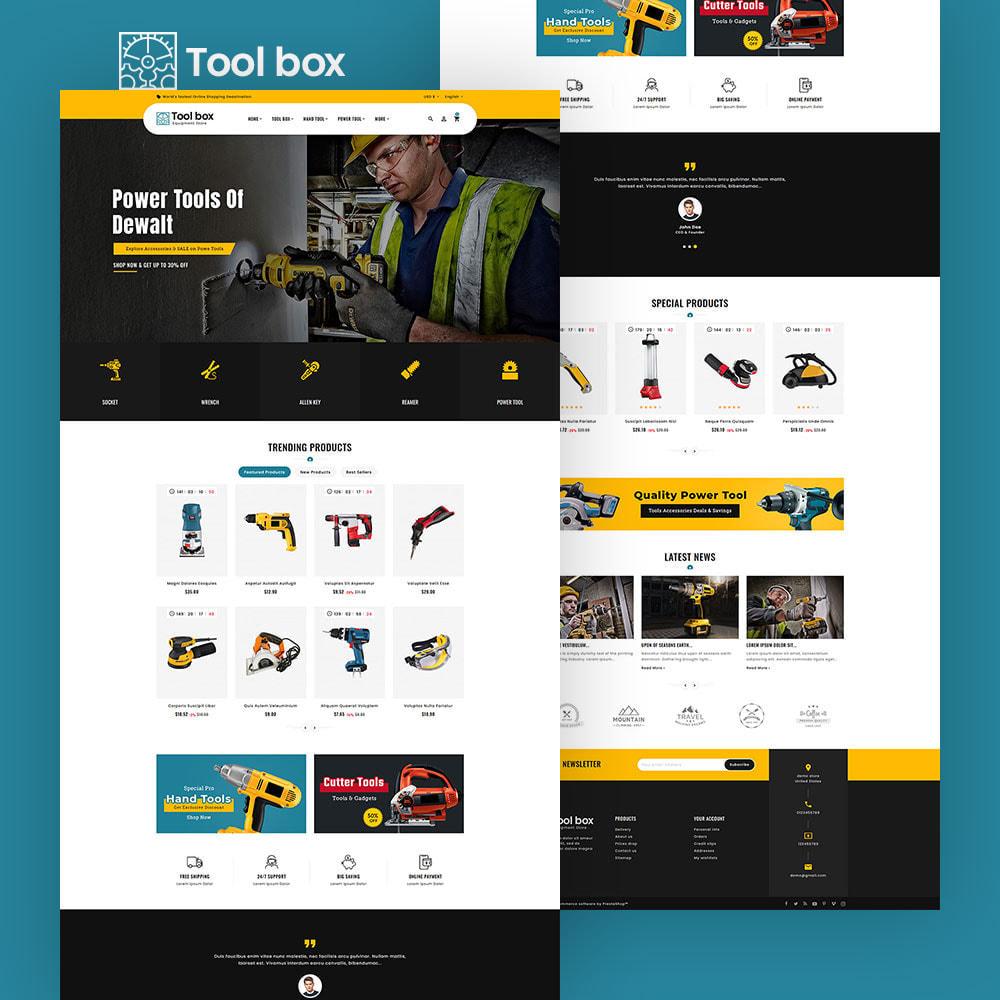 theme - Elettronica & High Tech - ToolBox - Drill Tools & Equipment - 5