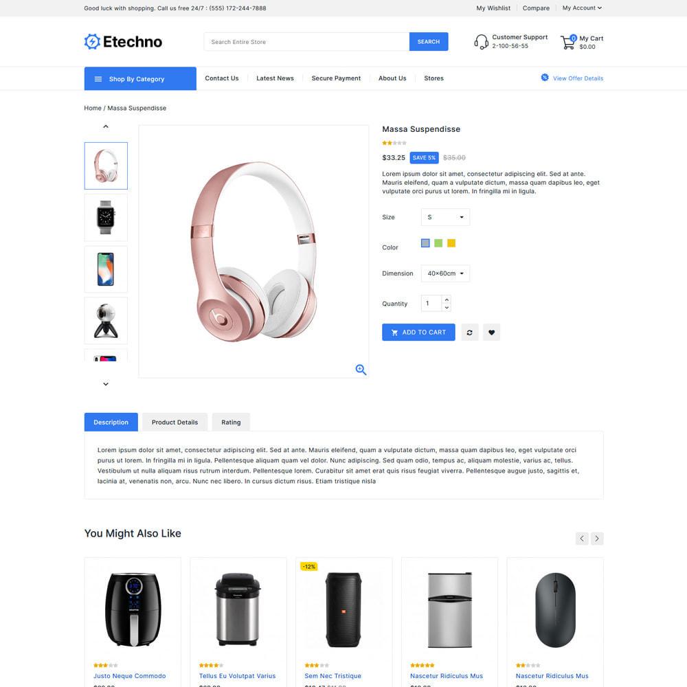 theme - Electronique & High Tech - Etechno - Electronics Store - 4