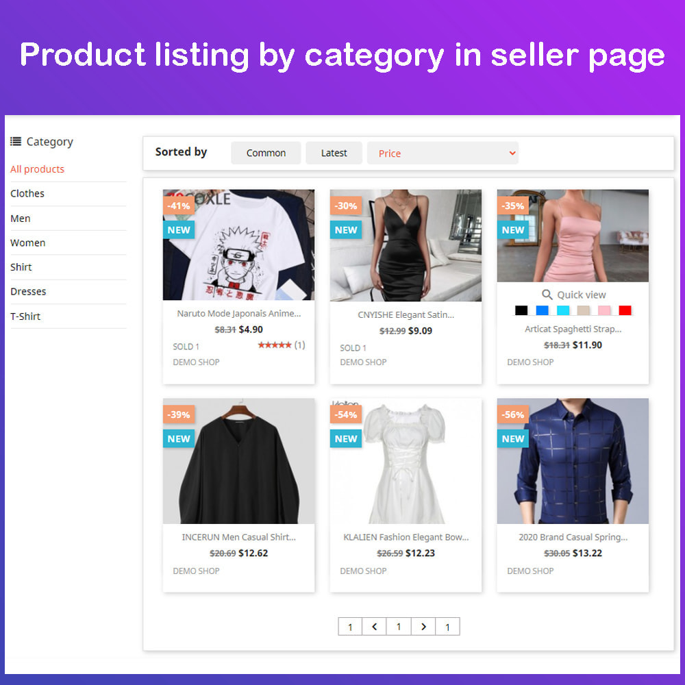 module - Marketplace Creation - Multi Vendor Ecommerce Marketplace - 9