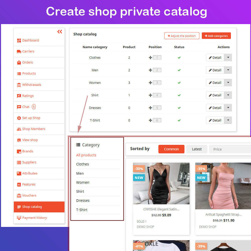 module - Marketplace Creation - Multi Vendor Ecommerce Marketplace - 18