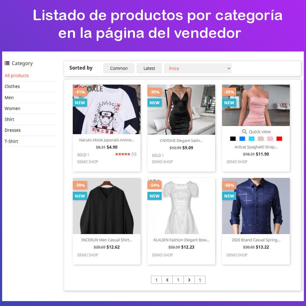 module - Creación de Marketplace - Multi Vendor Ecommerce Marketplace - 9