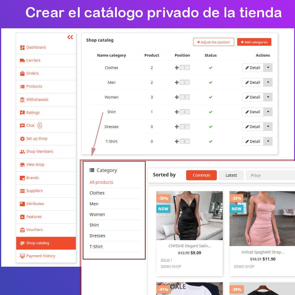 module - Creación de Marketplace - Multi Vendor Ecommerce Marketplace - 19