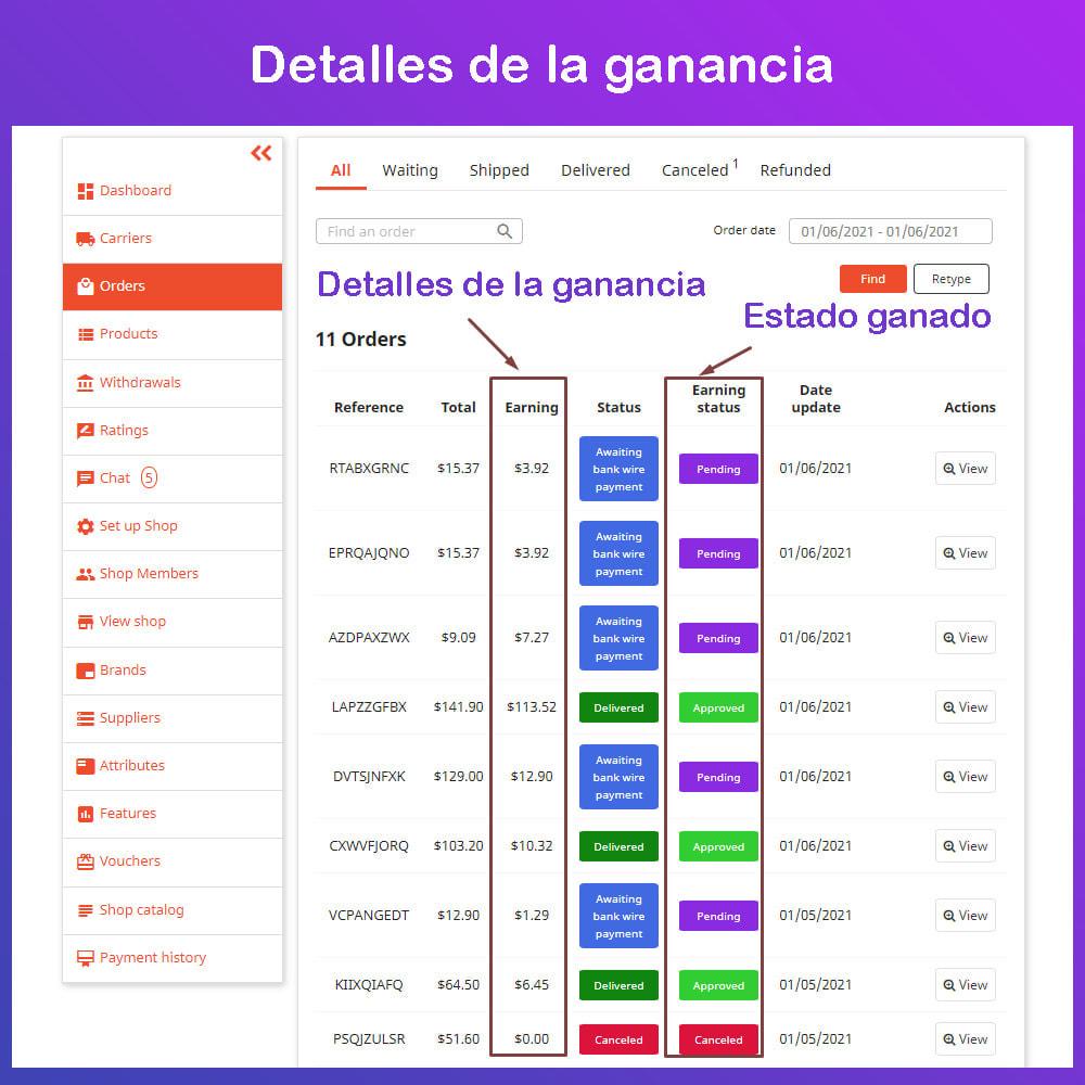 module - Creación de Marketplace - Multi Vendor Ecommerce Marketplace - 21