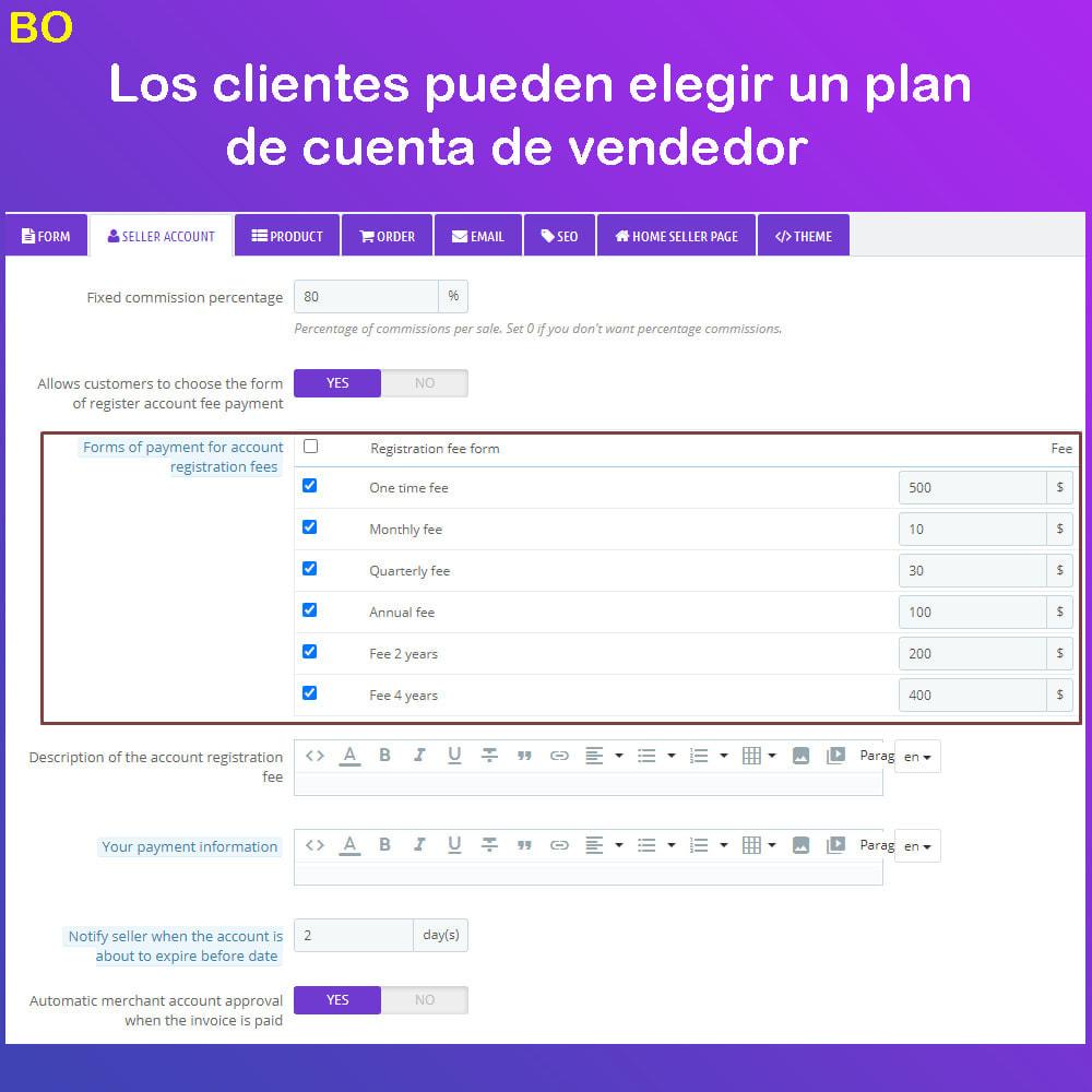 module - Creación de Marketplace - Multi Vendor Ecommerce Marketplace - 22