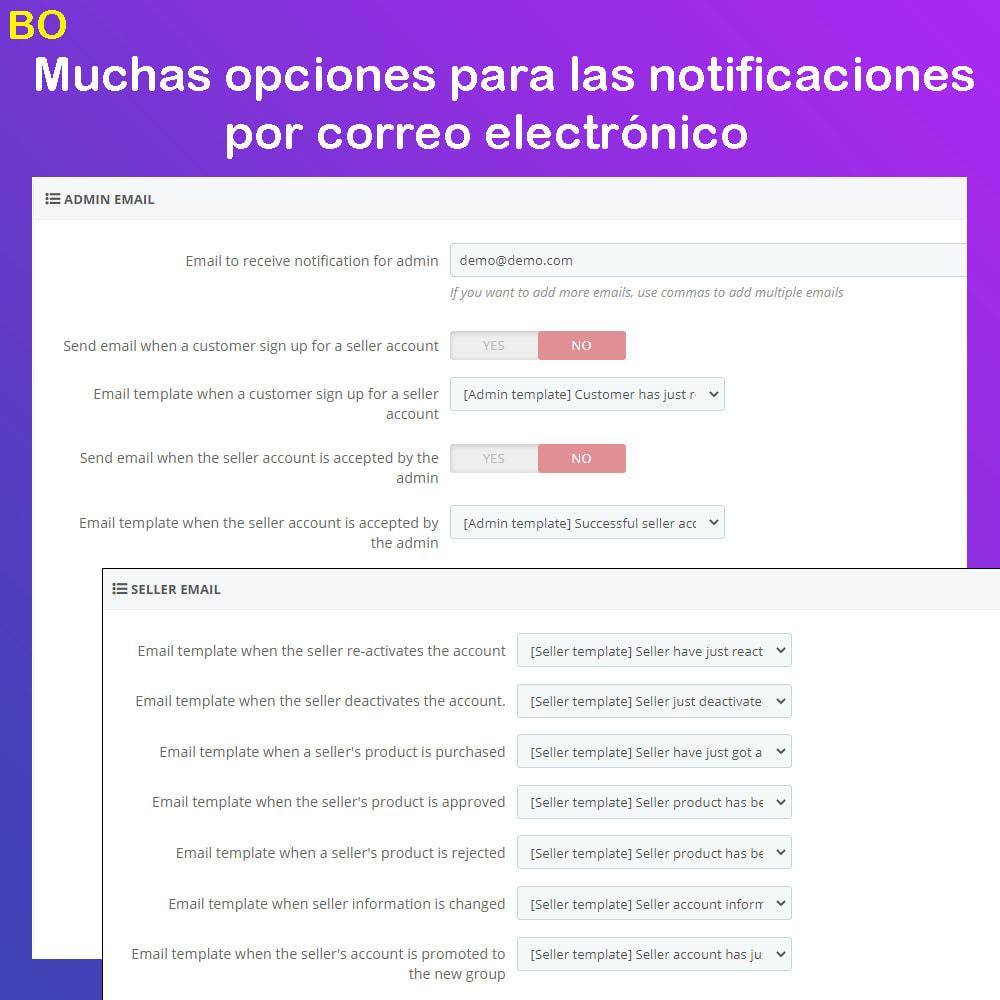 module - Creación de Marketplace - Multi Vendor Ecommerce Marketplace - 26