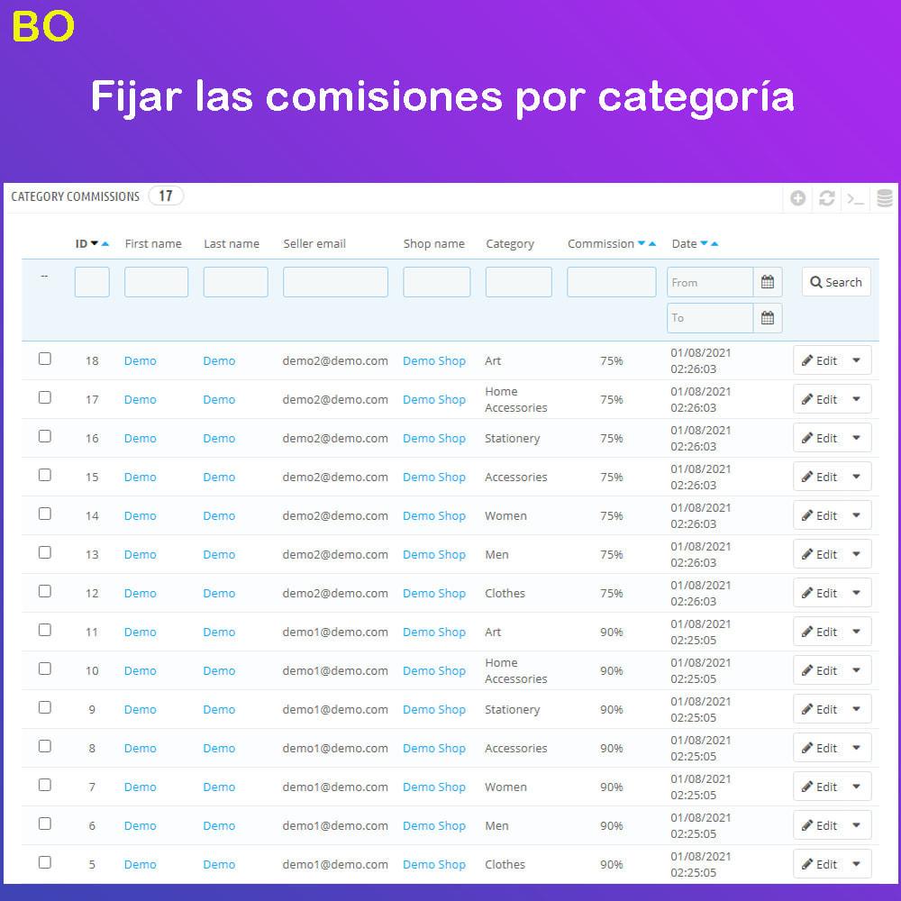 module - Creación de Marketplace - Multi Vendor Ecommerce Marketplace - 29