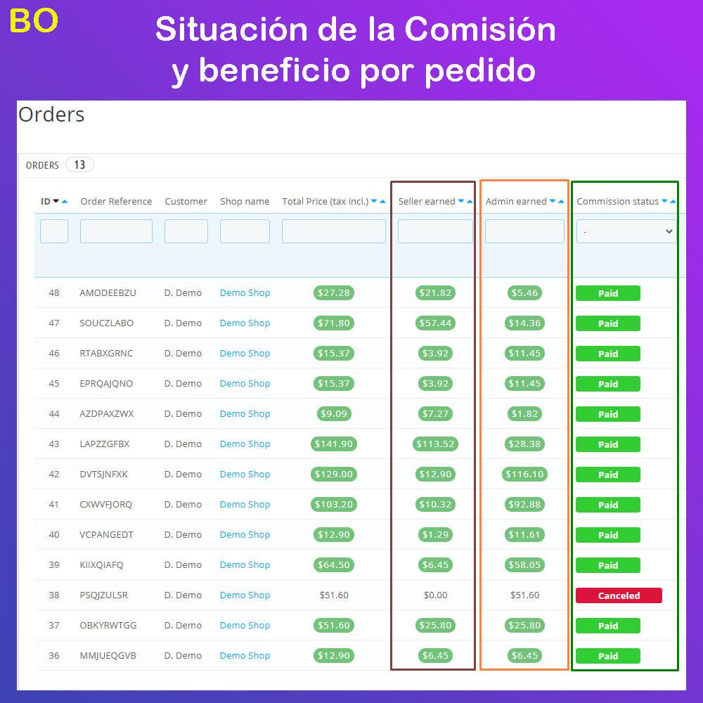 module - Creación de Marketplace - Multi Vendor Ecommerce Marketplace - 30