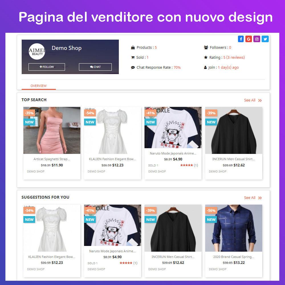 module - Creazione Marketplace - Mercato Ecommerce multifornitore - 8