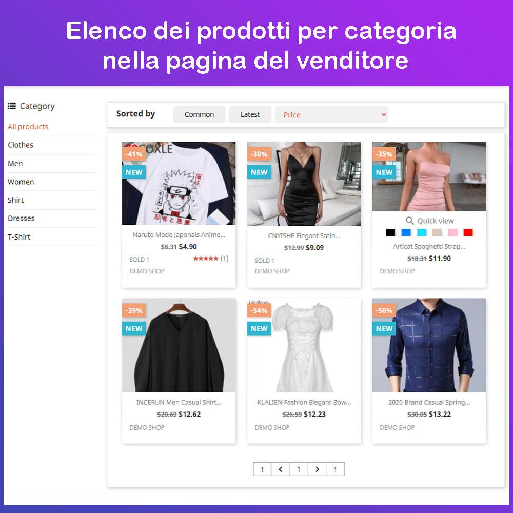 module - Creazione Marketplace - Mercato Ecommerce multifornitore - 9