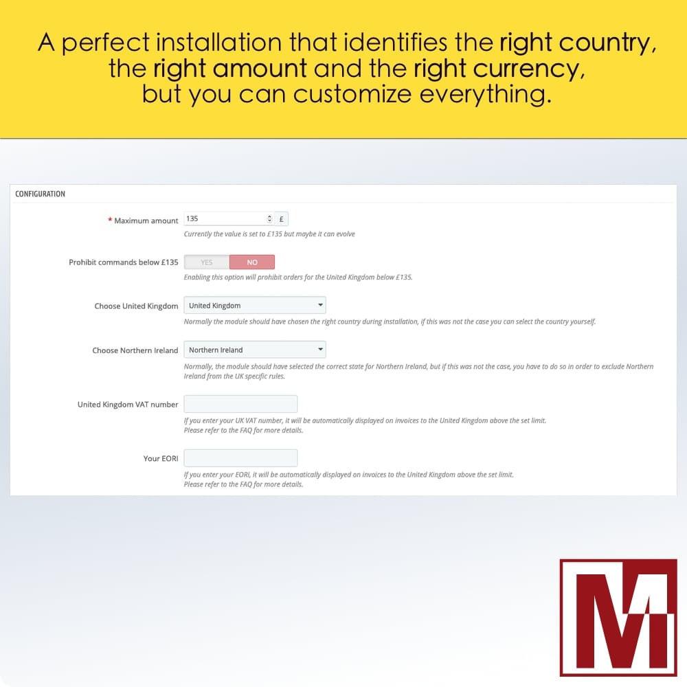 module - Zarządzanie cenami - VAT Management United Kingdom Brexit - 2