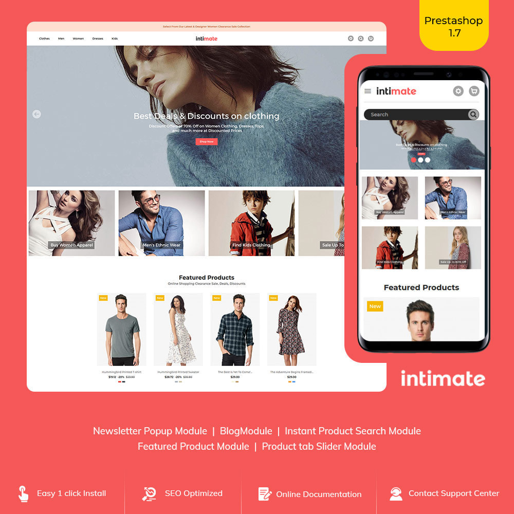 theme - Fashion & Shoes - Intimate Cloth Bag - Fashion Accessories Store - 1