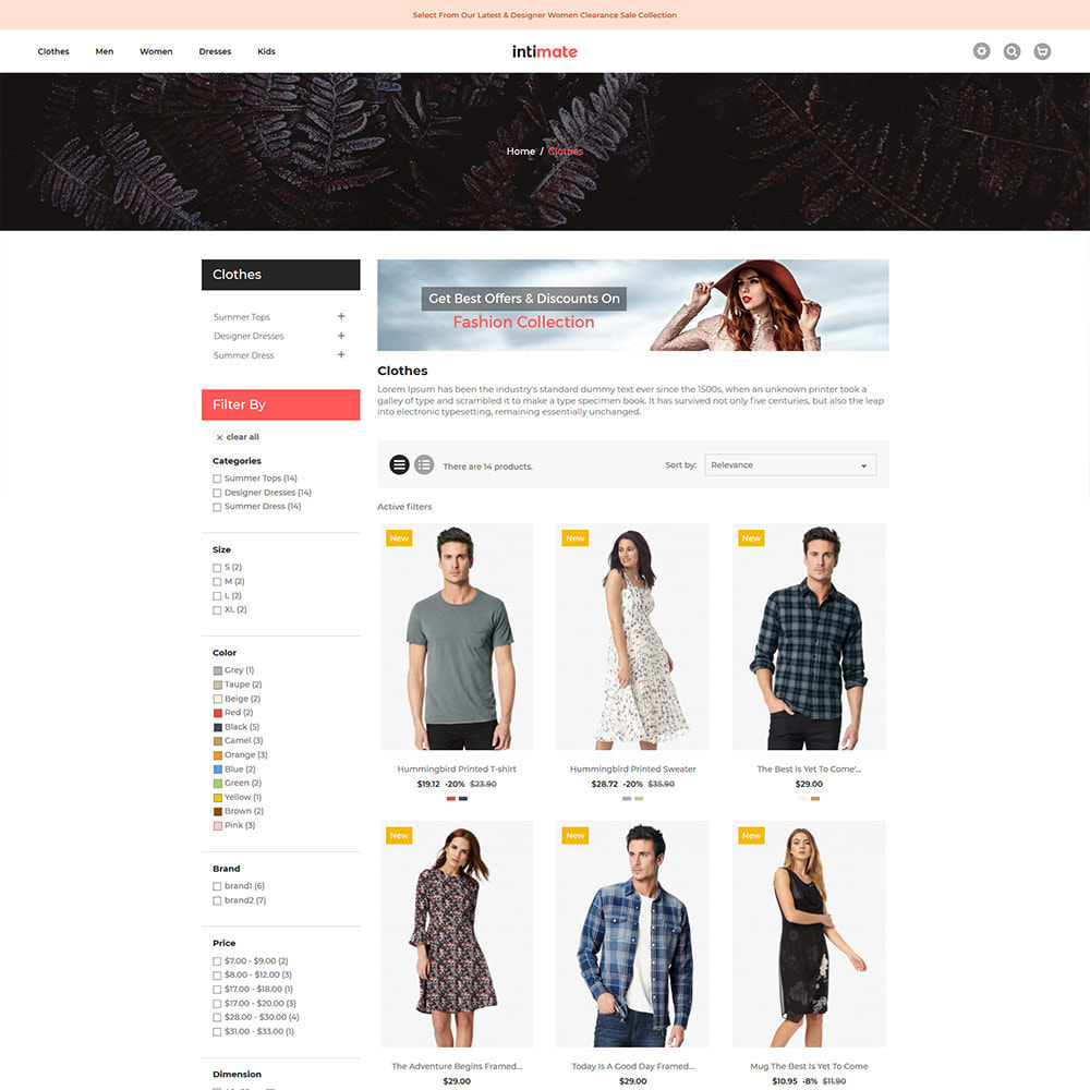 theme - Fashion & Shoes - Intimate Cloth Bag - Fashion Accessories Store - 4