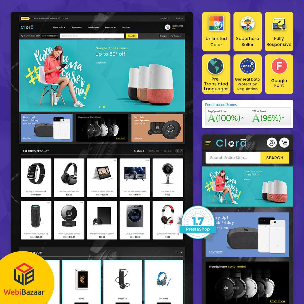 theme - Electronics & Computers - Clora - Super Multistore Mart - 1
