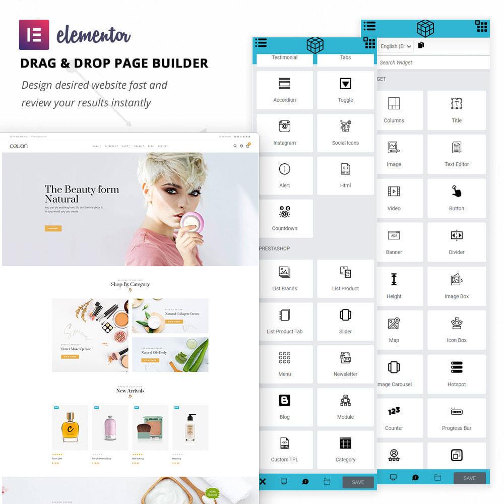 theme - Salud y Belleza - Covan - Cosmetics Store - 2