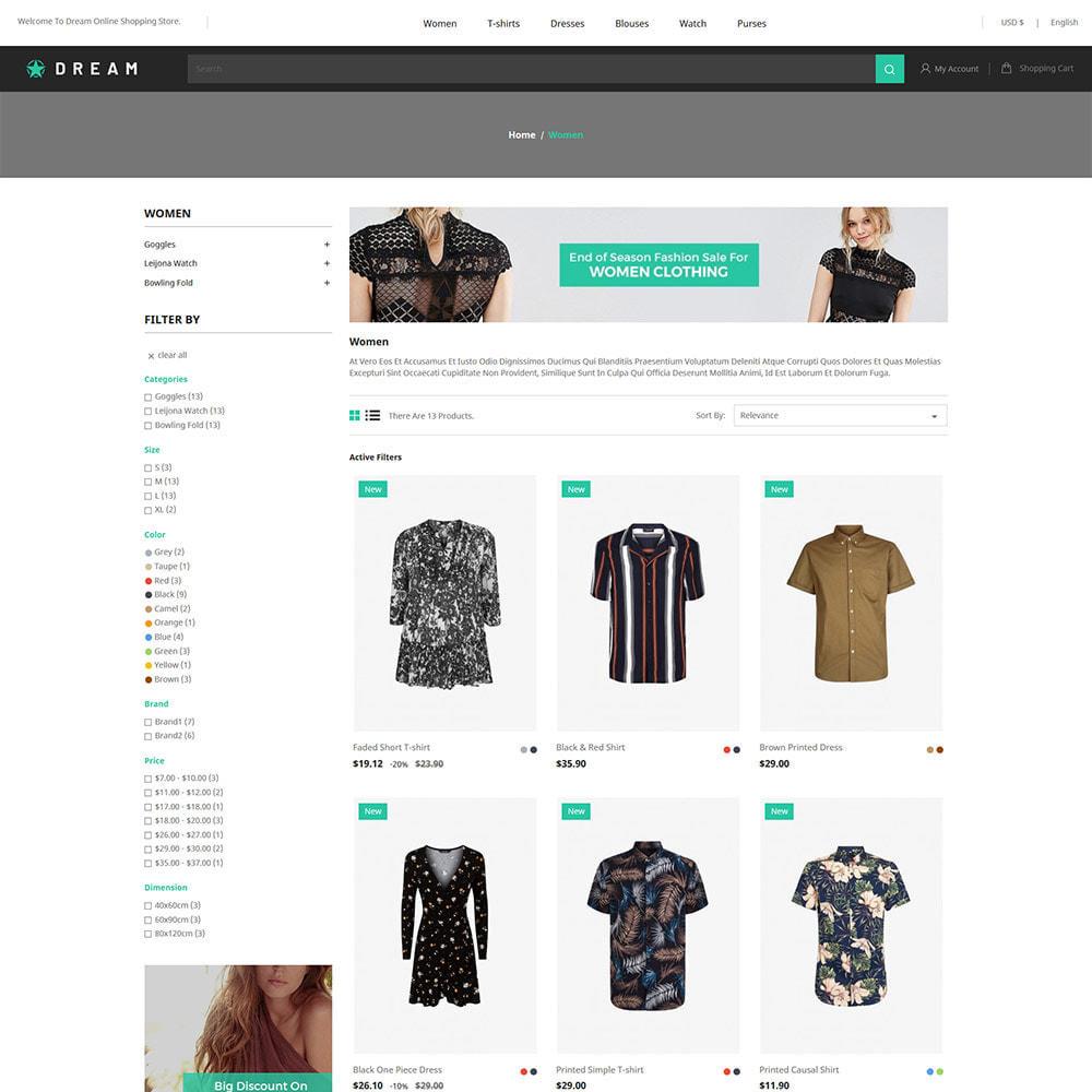 theme - Fashion & Shoes - Dream Fashion - Designer Cloth Black Store - 3