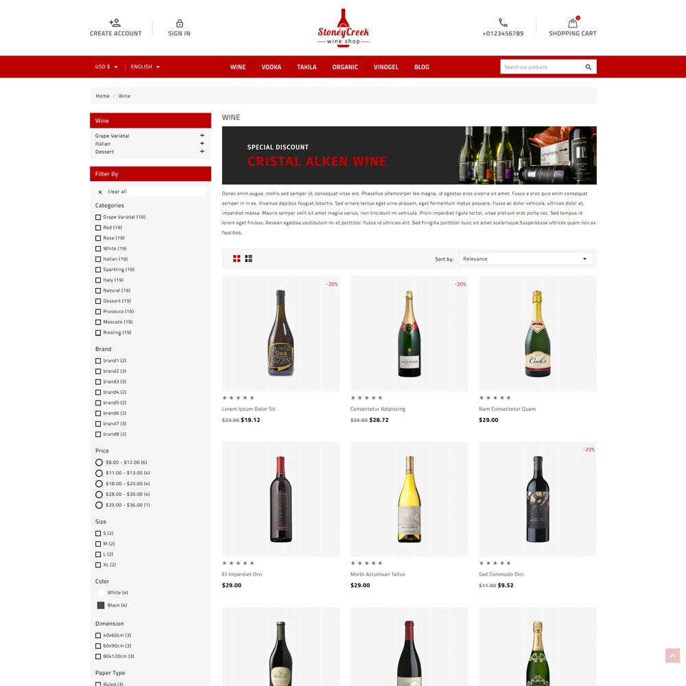 theme - Bebidas & Tabaco - StoneyCreek Drink & Tobacco Store - 2