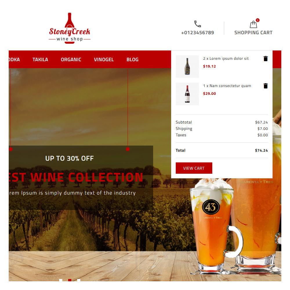 theme - Bebidas & Tabaco - StoneyCreek Drink & Tobacco Store - 6