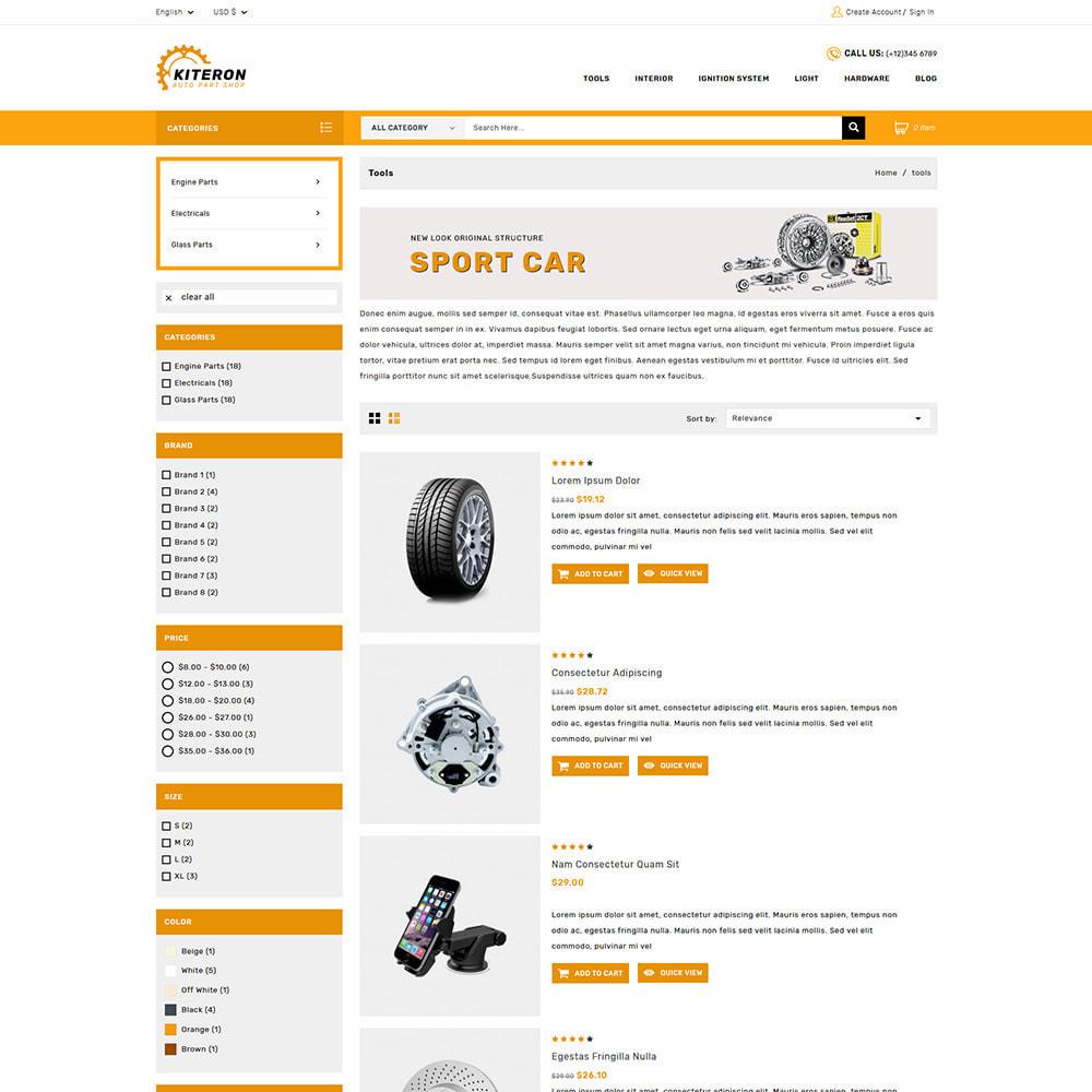 theme - Automotive & Cars - Kiteron Automotive & Cars Shop - 3