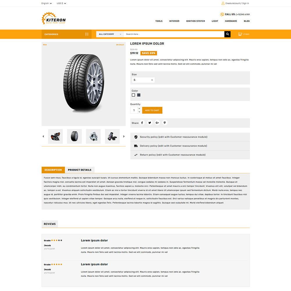 theme - Automotive & Cars - Kiteron Automotive & Cars Shop - 4