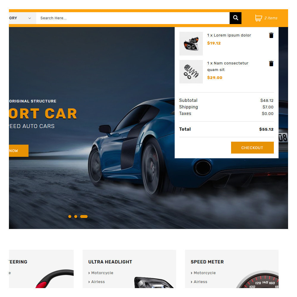 theme - Automotive & Cars - Kiteron Automotive & Cars Shop - 6