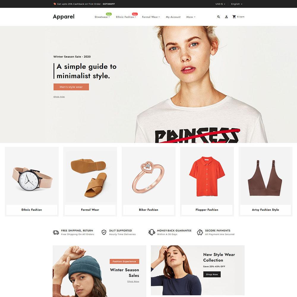theme - Fashion & Shoes - Apparel Fashion Clothes Super Store - 3