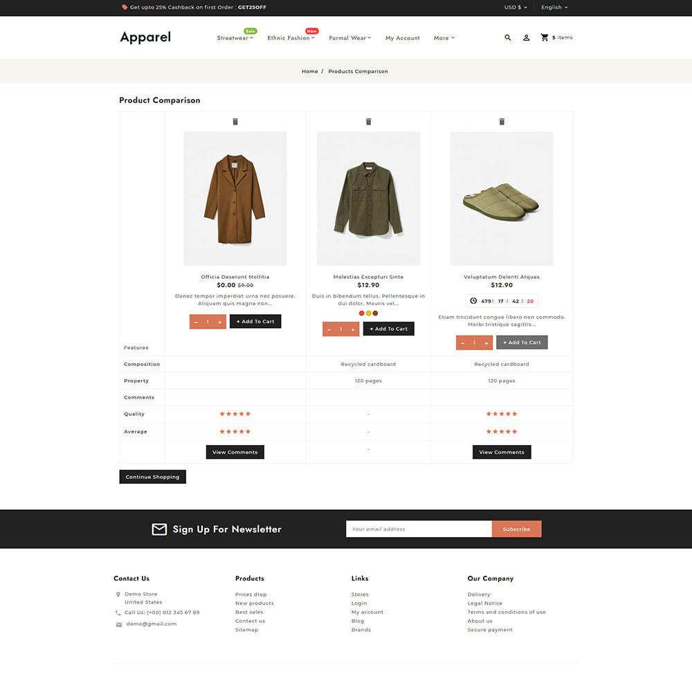 theme - Fashion & Shoes - Apparel Fashion Clothes Super Store - 12