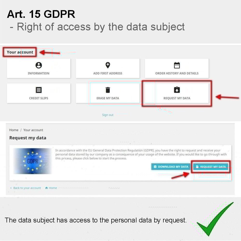 module - Rechtssicherheit - GDPR Compliance Pro - 2021 Verbesserte Edition - 6