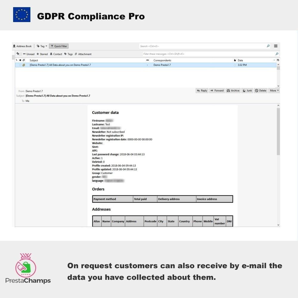 module - Rechtssicherheit - GDPR Compliance Pro - 2021 Verbesserte Edition - 8