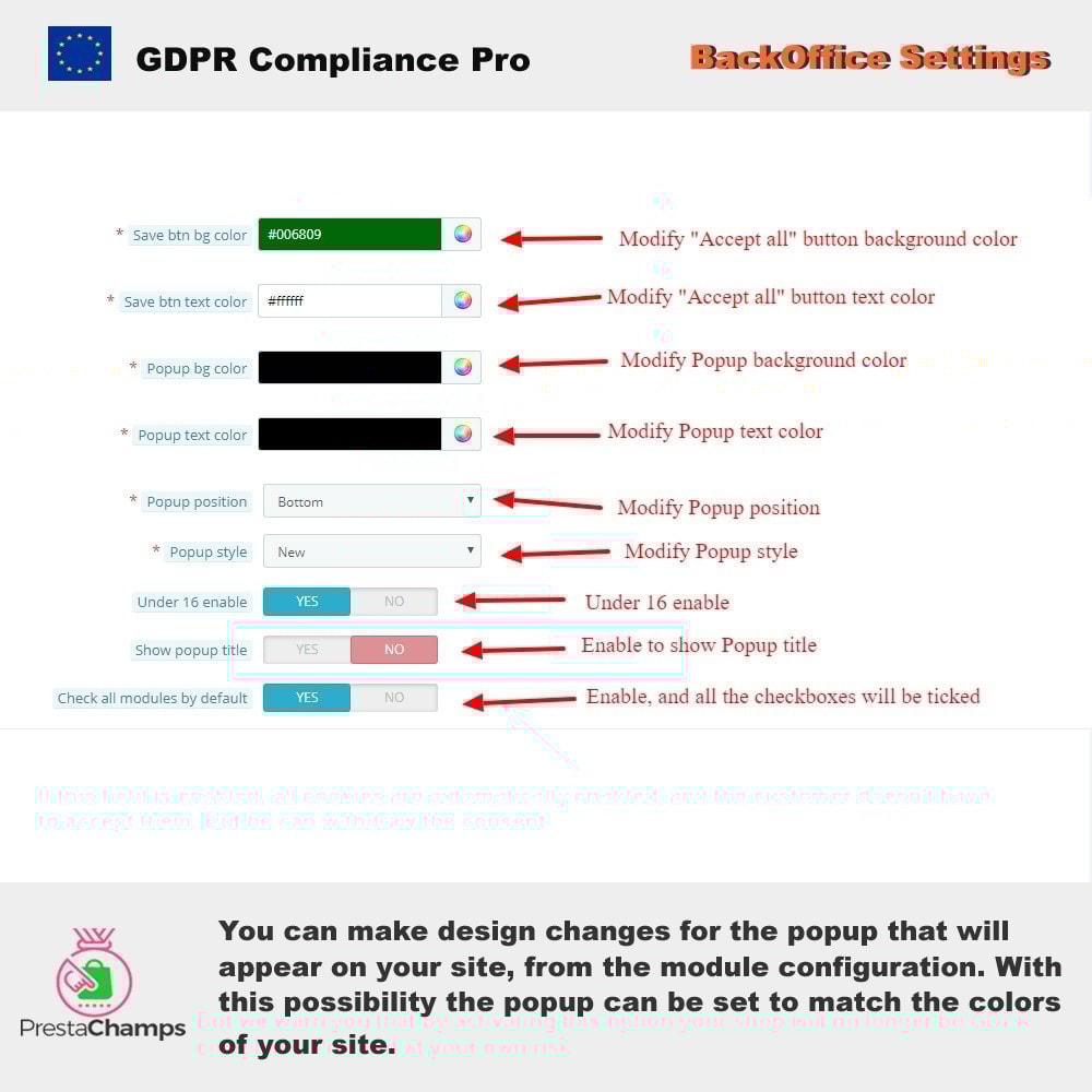 module - Rechtssicherheit - GDPR Compliance Pro - 2021 Verbesserte Edition - 9
