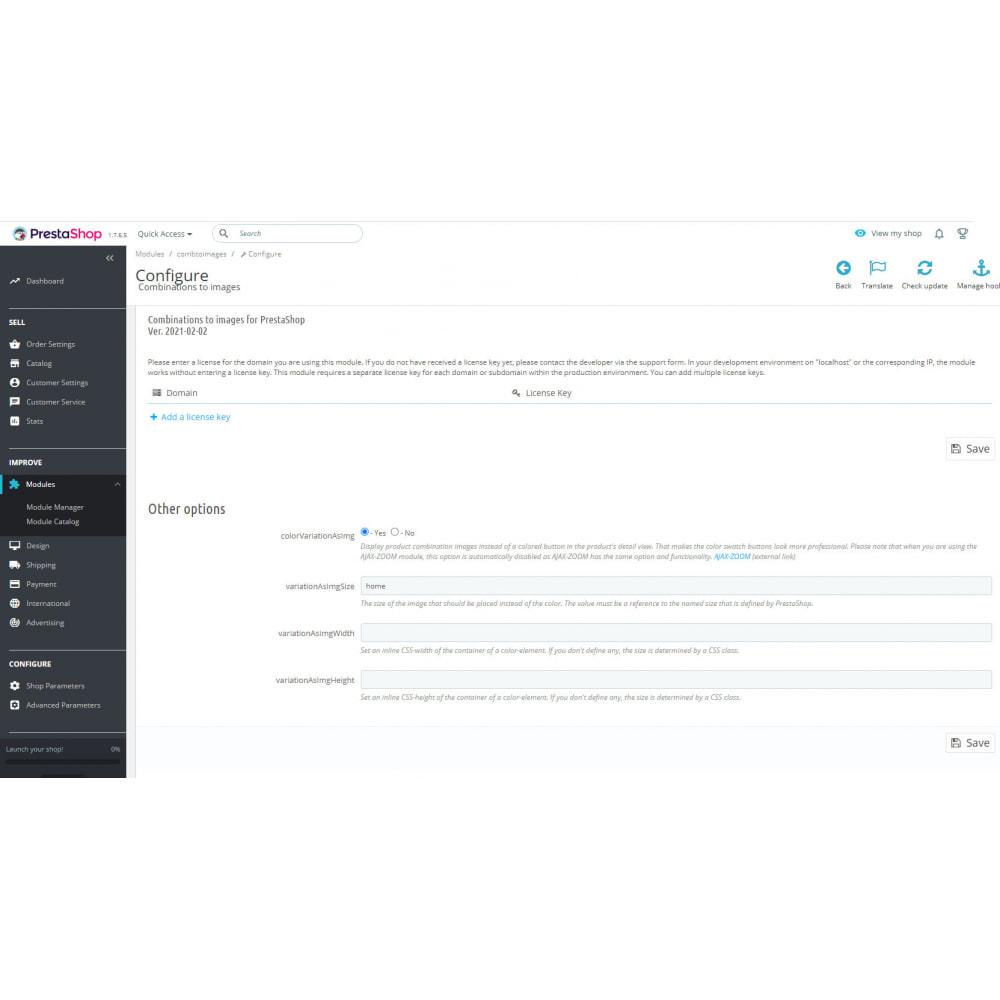 module - Bundels & Personalisierung - Produktkombinationen zu Bildern   Bilder für Varianten - 11