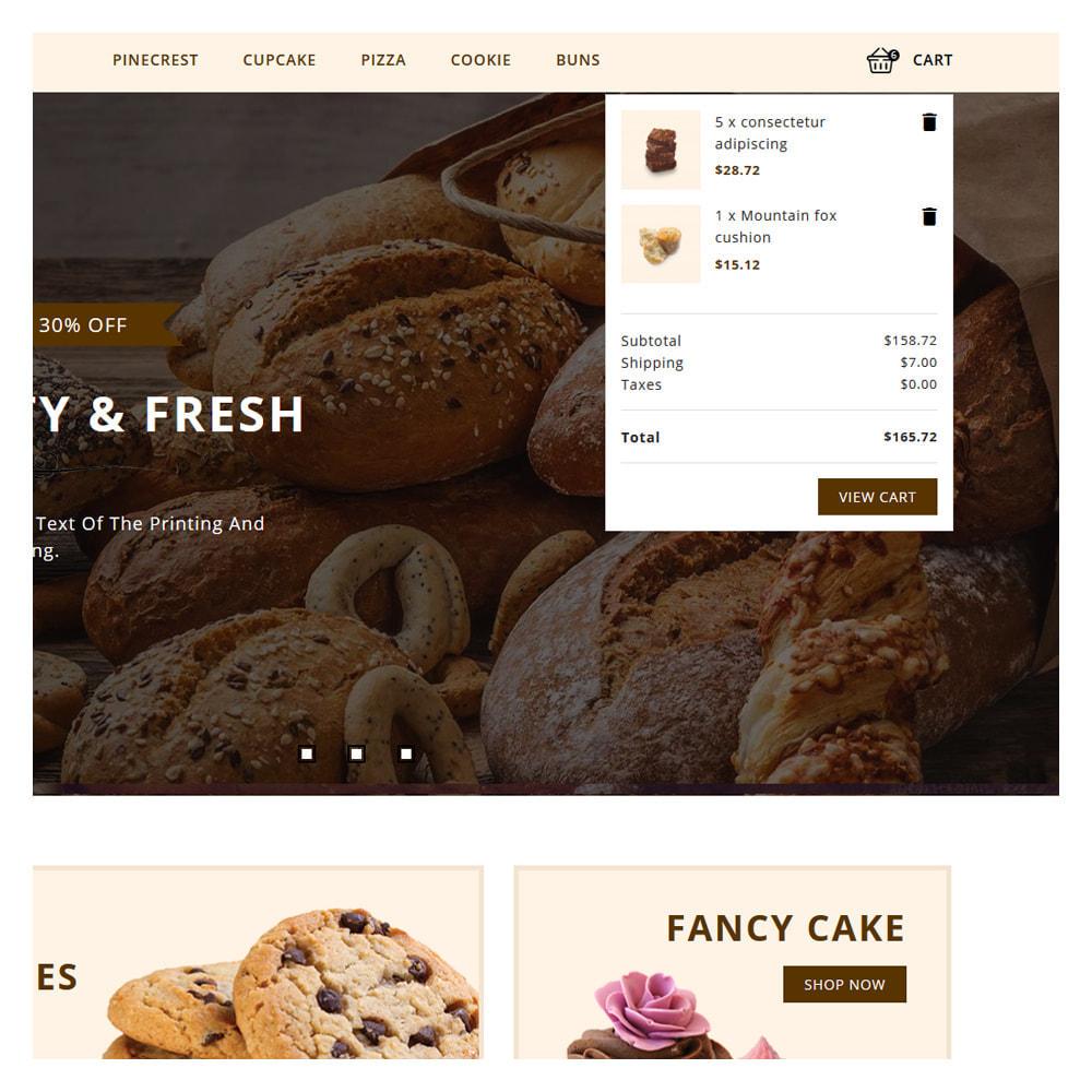 theme - Food & Restaurant - Pinecrest Cakes & Cookies Store - 5