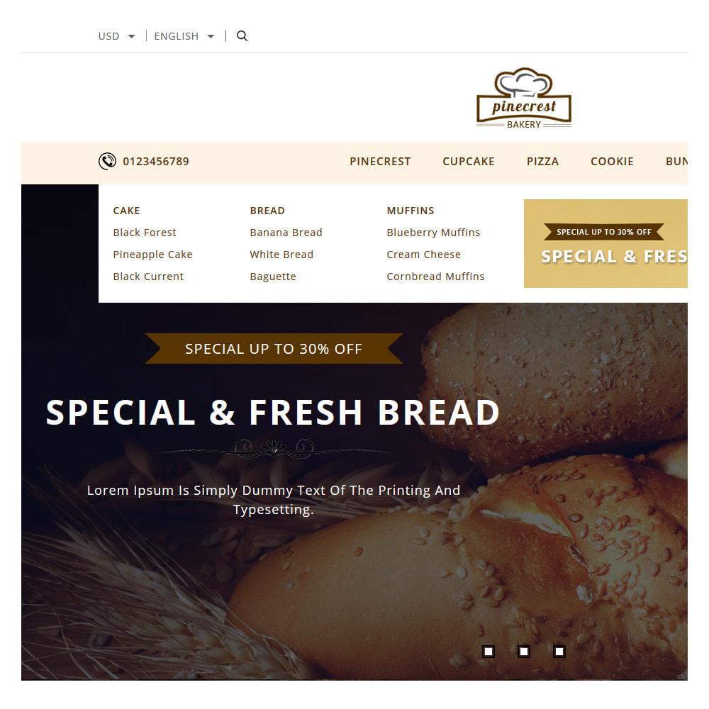theme - Food & Restaurant - Pinecrest Cakes & Cookies Store - 6