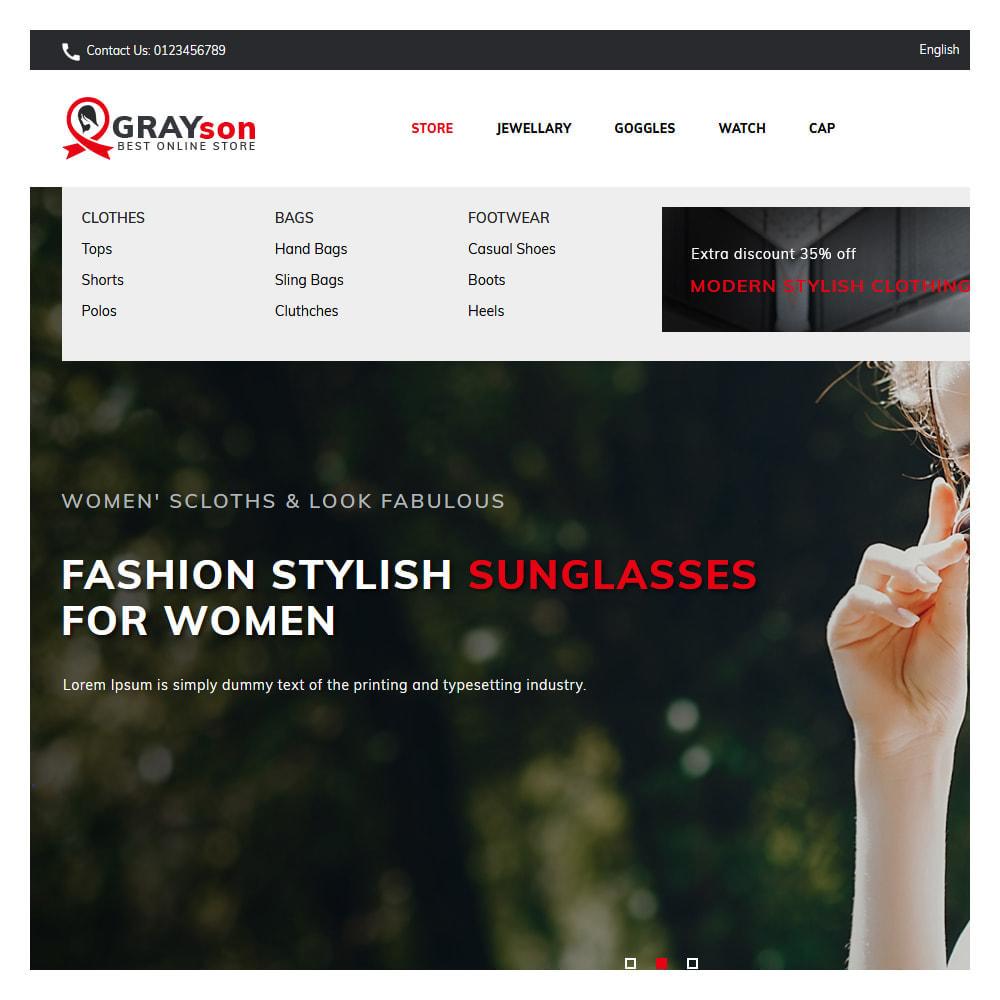 theme - Fashion & Shoes - Grayson Minimal Store - 6