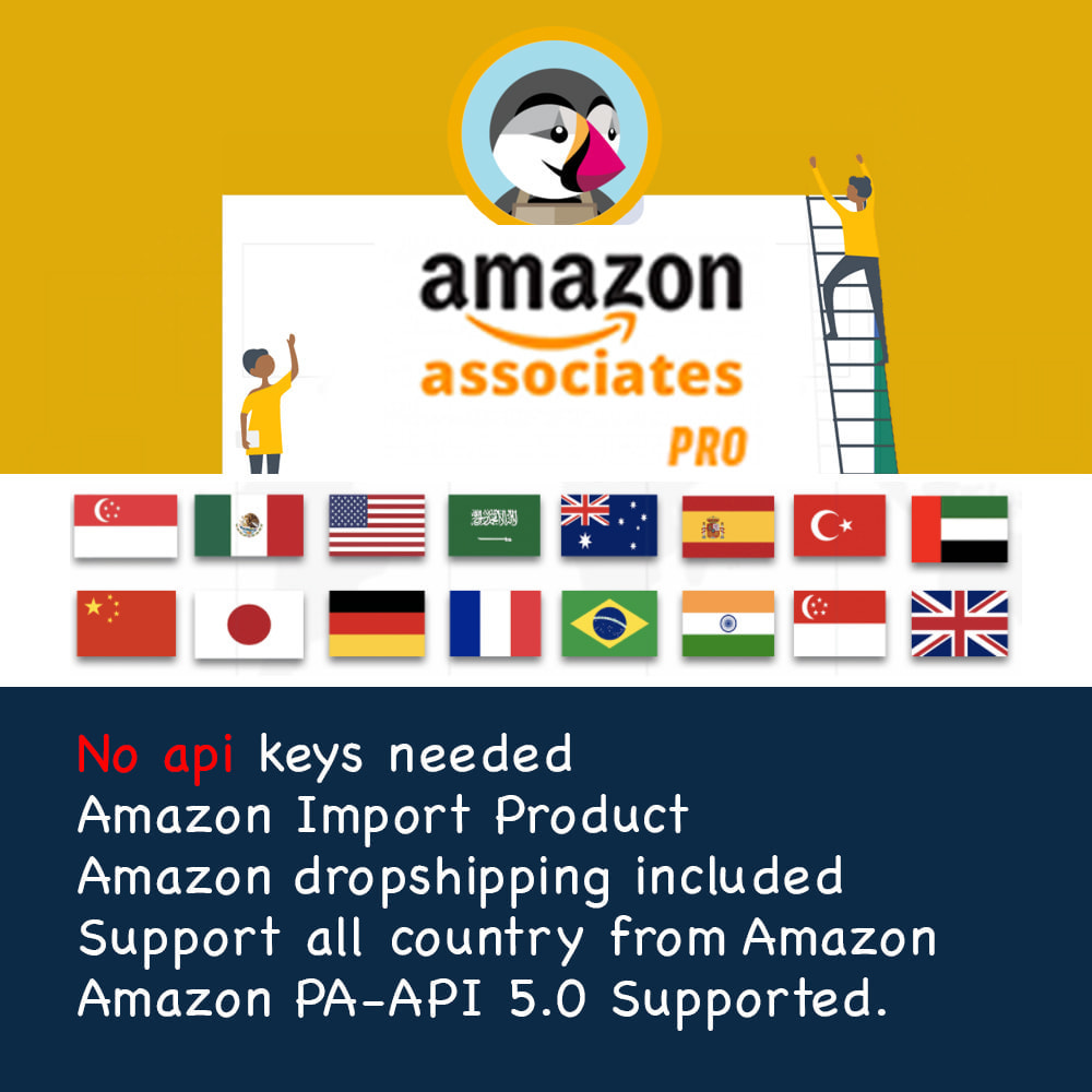 module - Dropshipping - Amazon Affiliate Pro & Import Product without API - 1