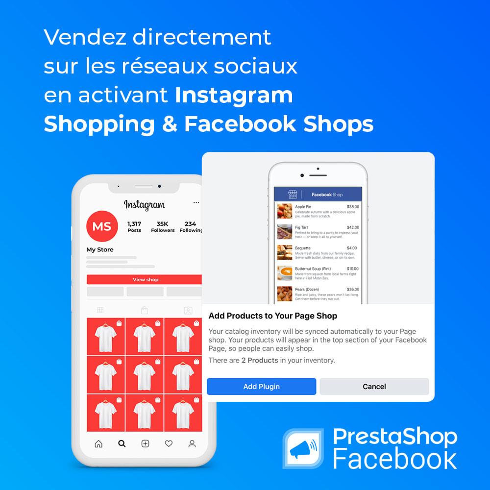 module - Produits sur Facebook & réseaux sociaux - PrestaShop Facebook - 5