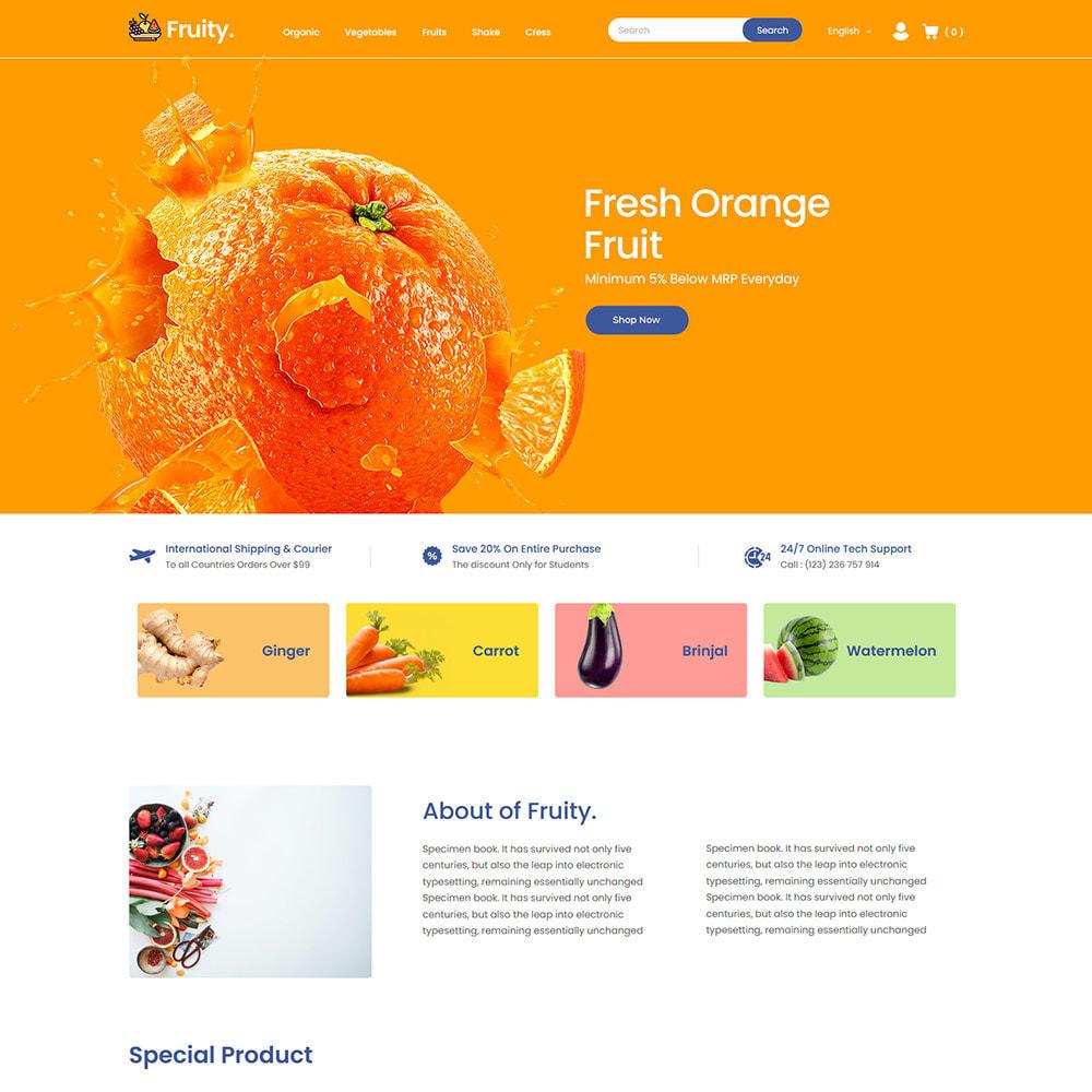 theme - Food & Restaurant - Fruity Vegetable  - Fruit Food  Store - 2