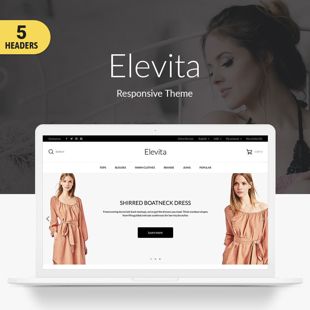 theme - Fashion & Shoes - Elevita Fashion Store - 1