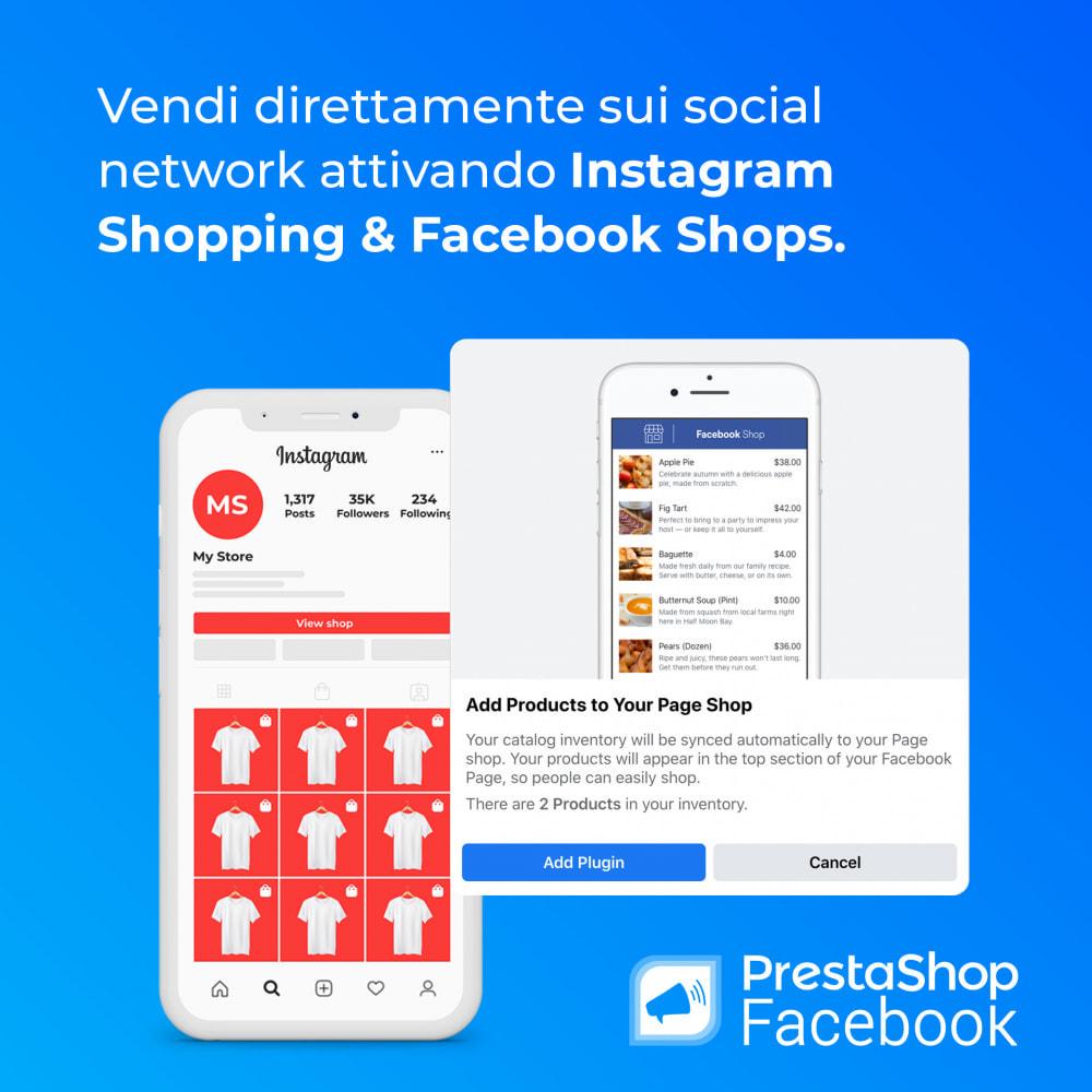 module - Prodotti sui Facebook & Social Network - PrestaShop Facebook - 5
